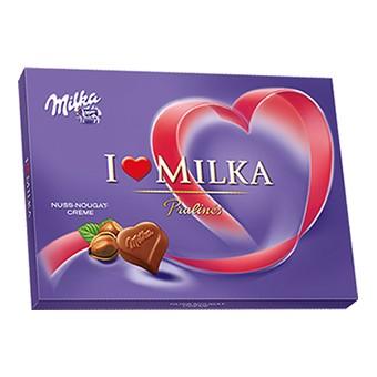 Geschenk: I Love Milka