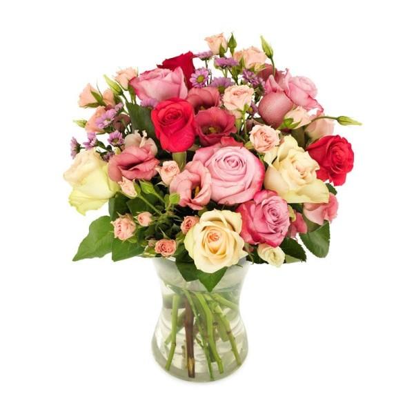 Blumenstrauß Rosenfreude versenden