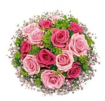 Blumenstrauß pinker Rosentraum