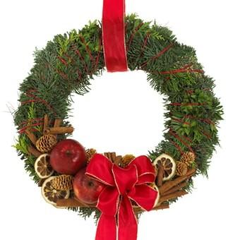 Adventskranz frohe Weihnachten