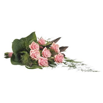 Trauerstrauß in rosa