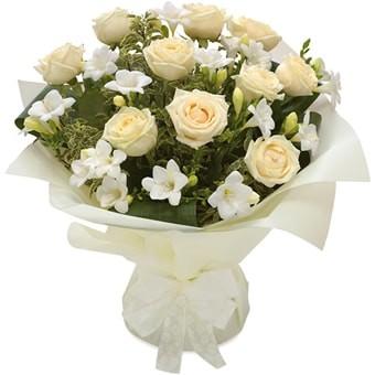 Blumenstrauß zum Hochzeitstag